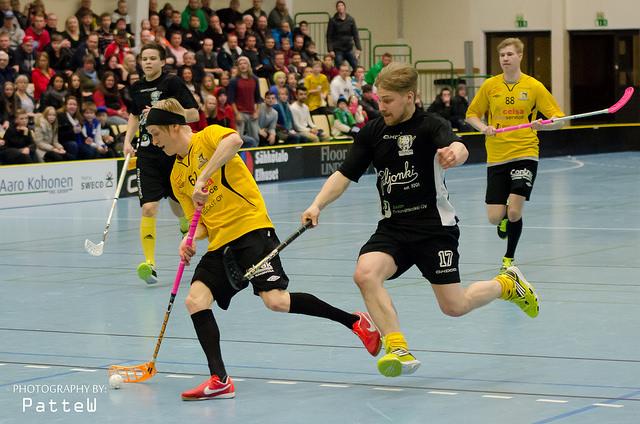 Knights ja Teemu-Petteri Tuovinen askeleen olivat askeleen edellä Coach Teamia viime vuoden Divarikarsinnoissa. (Kuva: Patric Westerlund)